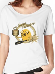 Makin Bacon Pancakes - Adventure Time Jake Women's Relaxed Fit T-Shirt
