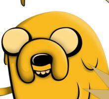 Makin Bacon Pancakes - Adventure Time Jake Sticker