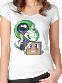 E P I C   B R O S Women's Fitted Scoop T-Shirt