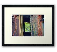 Window Shots Framed Print