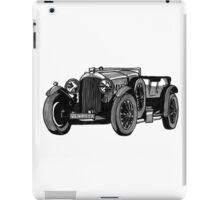 Bentley Oldtimer iPad Case/Skin