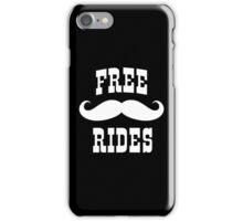 Mustache Rides iPhone Case/Skin