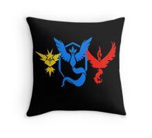 Pokemon Go All Teams Throw Pillow