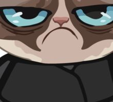Grumpy Ninja Cat Sticker
