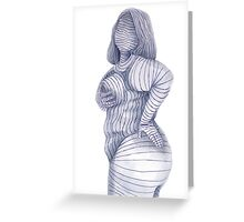 Beth Ditto Greeting Card