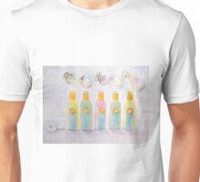 Relax bottles and bubbles Unisex T-Shirt