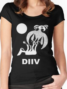 DIIV Women's Fitted Scoop T-Shirt