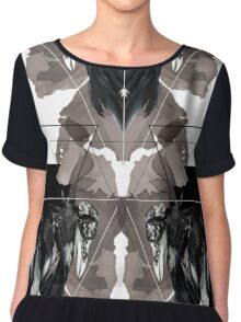 Taxidermy v.4 Chiffon Top