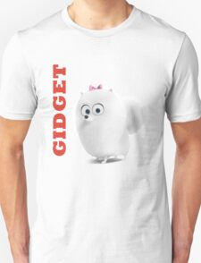 Gidget - The secret life of pet Unisex T-Shirt