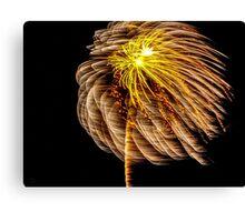 Dandelion Sparks Canvas Print