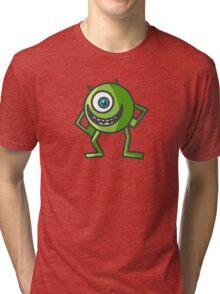 Mike Wazowski -  Monsters Inc. Tri-blend T-Shirt