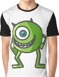 Mike Wazowski -  Monsters Inc. Graphic T-Shirt