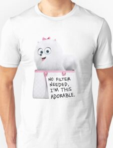Gidget - No filter needed i'm this adorable ! Unisex T-Shirt