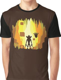 Wumpa World Graphic T-Shirt