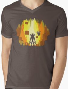 Wumpa World Mens V-Neck T-Shirt