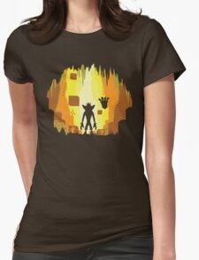 Wumpa World Womens Fitted T-Shirt