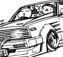Crazy Car Art 0099 Sticker