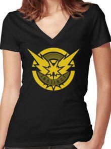 Instict Pokemon Women's Fitted V-Neck T-Shirt
