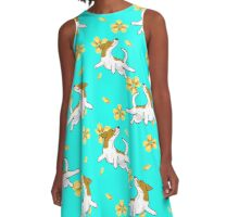 Russell-flowers A-Line Dress