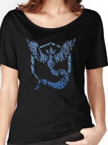 Team Mystic Scribble Women's Relaxed Fit T-Shirt