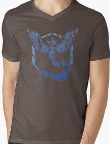 Team Mystic Scribble Mens V-Neck T-Shirt