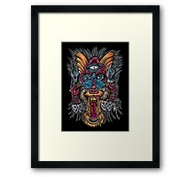 The Witch Doctor Framed Print