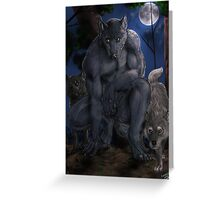 Alpha of the pack Greeting Card