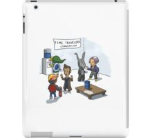 Time travelers convention iPad Case/Skin