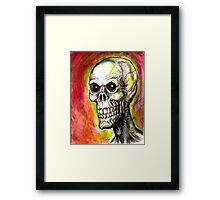 SKULL EYES Framed Print