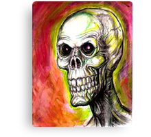 SKULL EYES Canvas Print