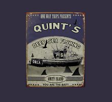 Quint's Deep Sea Fishing Unisex T-Shirt