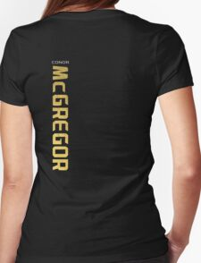 Conor McGregor Championship jersey Womens Fitted T-Shirt