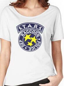 -GEEK- Raccoon Police Women's Relaxed Fit T-Shirt
