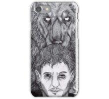 Werewolf Will (bw) iPhone Case/Skin