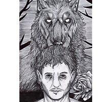 Werewolf Will (bw) Photographic Print