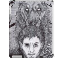 Werewolf Will (bw) iPad Case/Skin