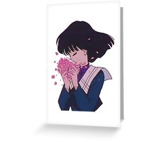 SAILOR MOON - HOTARU TOMOE Greeting Card