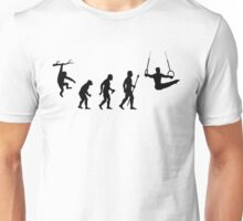 Funny Gymnastics Evolution Unisex T-Shirt