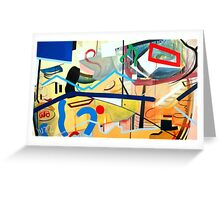 Abstract #13 Greeting Card