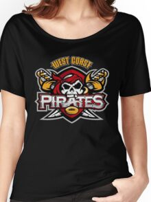 West Coast Pirates logo Women's Relaxed Fit T-Shirt