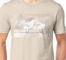 Seagulls at Durban Harbour, South Africa Unisex T-Shirt
