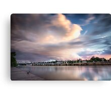 Sky Explosions  Canvas Print