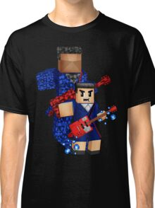 8bit boy with 12th Doctor shadow Classic T-Shirt