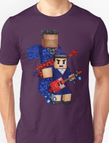 8bit boy with 12th Doctor shadow Unisex T-Shirt