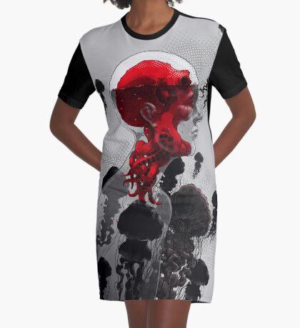Control Graphic T-Shirt Dress