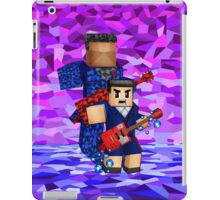 8bit boy with 12th Doctor shadow iPad Case/Skin