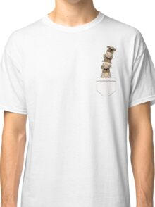 Pugs in a pocket Classic T-Shirt