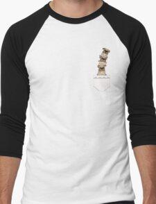 Pugs in a pocket Men's Baseball ¾ T-Shirt