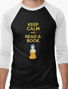 Read a Book Men's Baseball ¾ T-Shirt