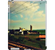 Rural PA as seen from a moving train iPad Case/Skin